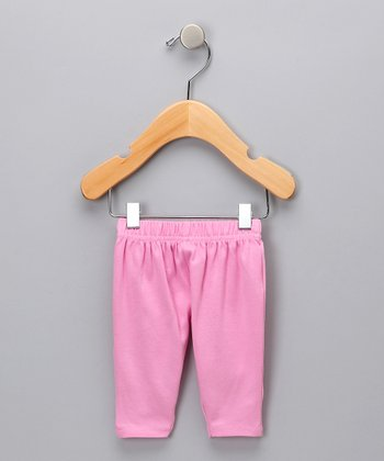 Pink Snap Organic Pants - Infant