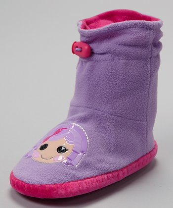 Purple Lalaloopsy Mukluk Slipper