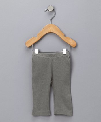 Light Gray Organic Pants - Infant