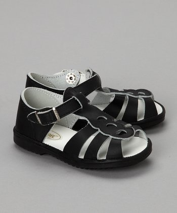 Black Fisherman Sandal - Infant & Toddler