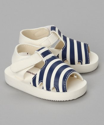 Blue Stripe Sandal - Toddler & Kids