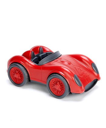 Red Recycled Racecar