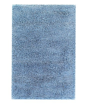 Blue Super Shag Rug