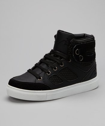 Black & White Roc Out Hi-Top Sneaker