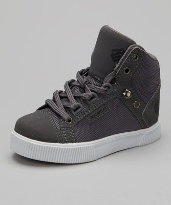 Charcoal & White City Roc Hi-Top Sneaker