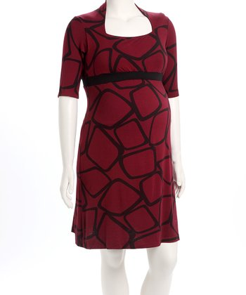 Brick D&A Nursing Dress