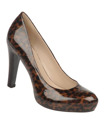 Brown Leopard Cicero Pump
