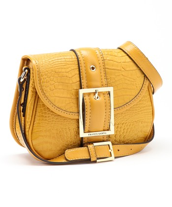 Canary Yellow New Kidman Crossbody Bag