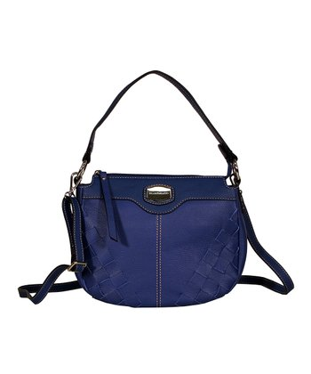 Royal Blue Piza Crossbody Bag