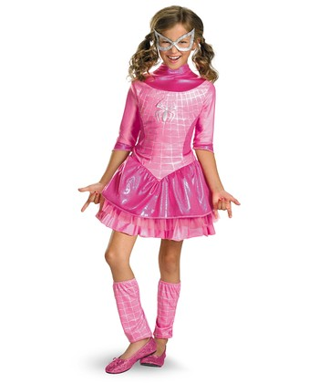 Pink Deluxe Spider-Girl Dress-Up Set - Toddler & Girls