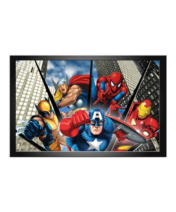 Marvel Team Lenticular Framed Wall Art