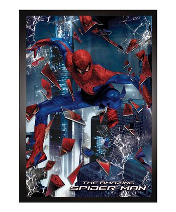 Spider-Man Lenticular Framed Wall Art