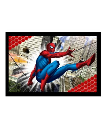 Spider-Man City Slinging Lenticular Wall Art