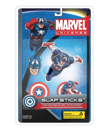 Captain America Wall Gel Set