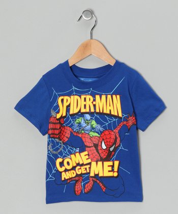 Royal Blue 'Come and Get Me' Spider-Man Tee - Infant & Toddler