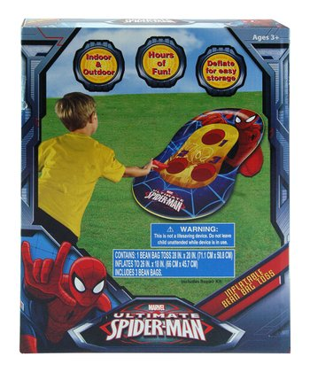 Spider-Man Inflatable Bean Bag Toss Game