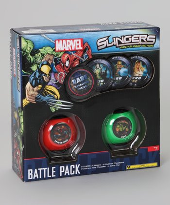 Marvel Slingers Battle Game Set