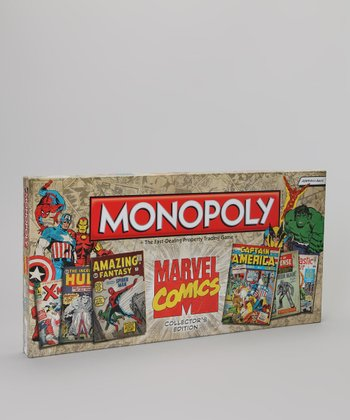 Marvel Comics Collector's Edition Monopoly Board Game