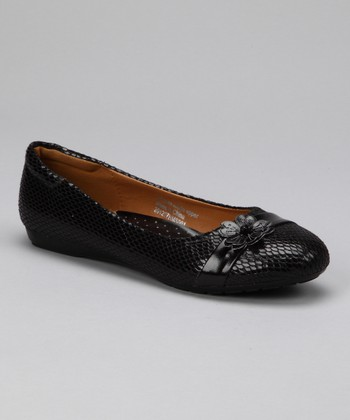 Black Dona Kara Flat - Women