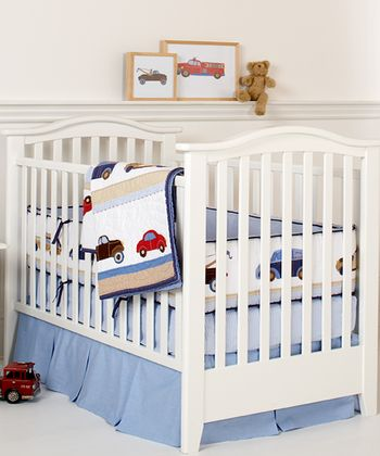 Cars & Trucks Crib Bedding Set