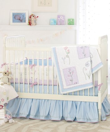 Wildflowers Crib Bedding Set