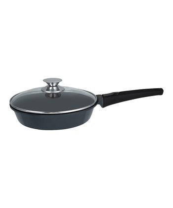 Black Amovible 11'' Covered Frying Pan