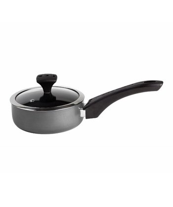 Gray Nonstick Diaz 1.7-Qt. Covered Saucepan