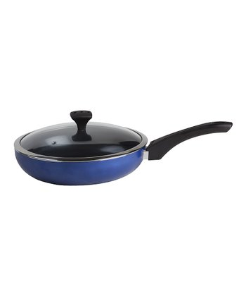 Blue Nonstick Diaz 11'' Covered Sauté Pan
