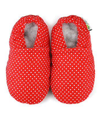 Red Polka Dot Booties