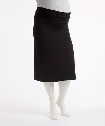 Little Black Maternity Skirt