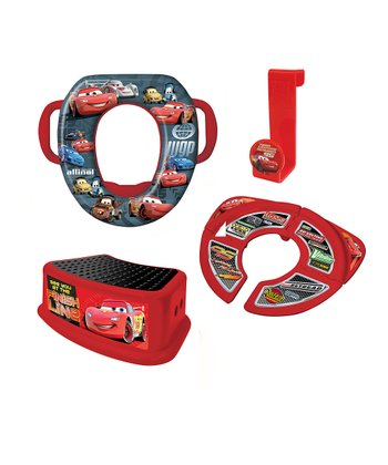 Red Cars Potty Set
