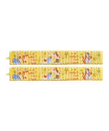 Winnie the Pooh Inflatable Safety Bath Bumper - Set of Two