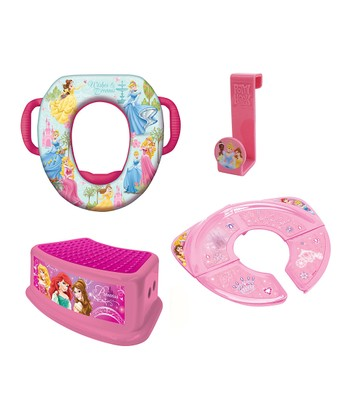 Pink Princess Potty Set