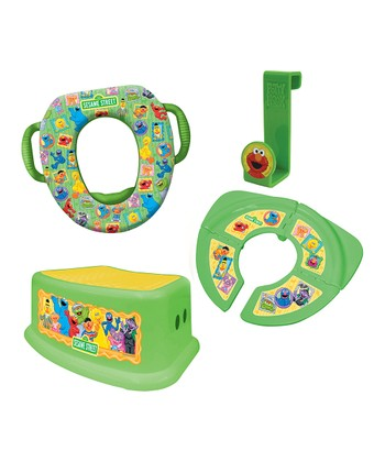 Green Sesame Street Potty Set