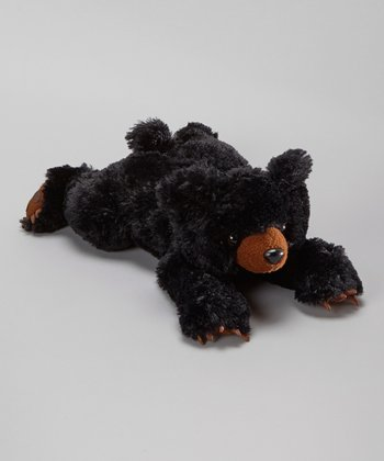 Browser Black Bear Plush Toy