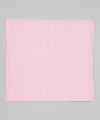 Pink Organic Swaddling Blanket