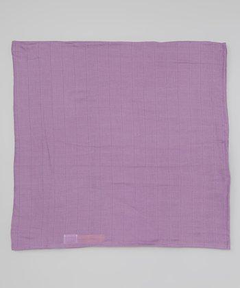 Violet Organic Swaddling Blanket