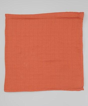 Pumpkin Organic Swaddling Blanket