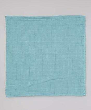 Periwinkle Organic Swaddling Blanket