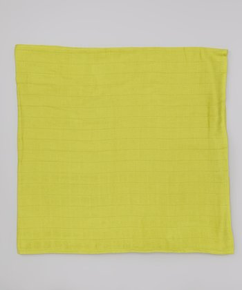 Lime Organic Swaddling Blanket