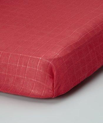 Terra-Cotta Organic Crib Sheet