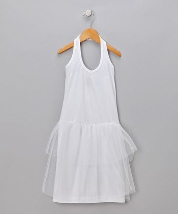 Optical White Dima Dress