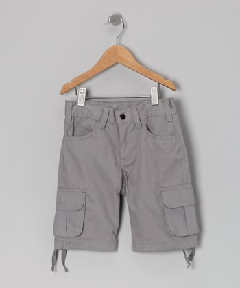 Gray Cargo Shorts - Infant, Toddler & Boys
