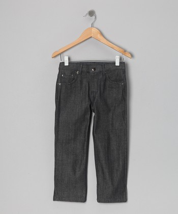 Black Medium Fade Jeans - Toddler & Boys