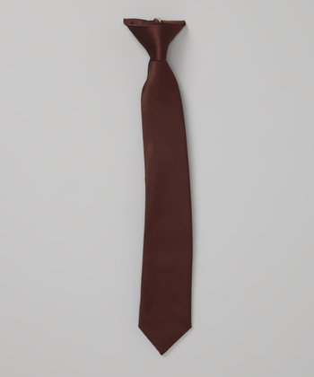 Brown Tie - Infant, Toddler & Boys