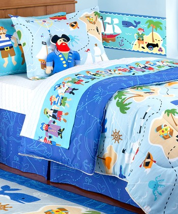 Olive Kids Pirates Toddler Bedding Set