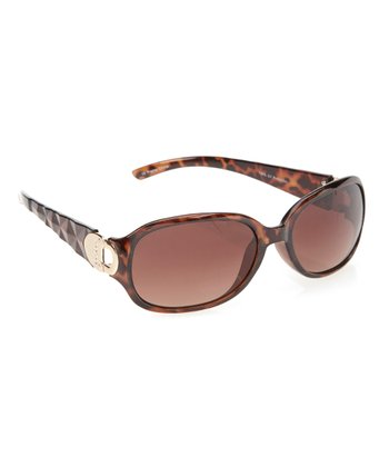 Tortoise Treasure Chest Sunglasses