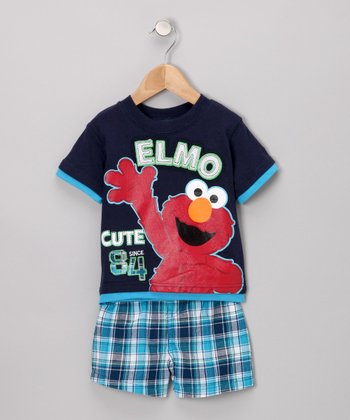 Elmo Cute Tee & Shorts