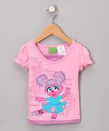 Pink Abby Cadabby Dance Tee - Toddler