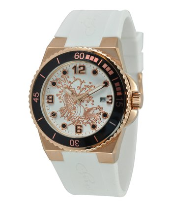 Rose Koi Immersion Diving Watch - Women